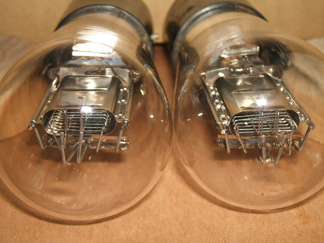 WESTERN ELECTRICの通信用直熱3極管 101J(=101F) ナス管2本セット_画像7