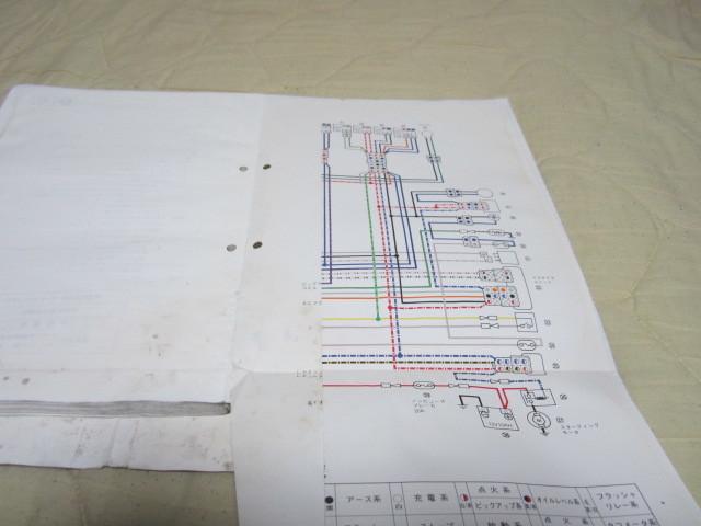 FZR250 2KR サービスマニュアル、配線図付き_画像4