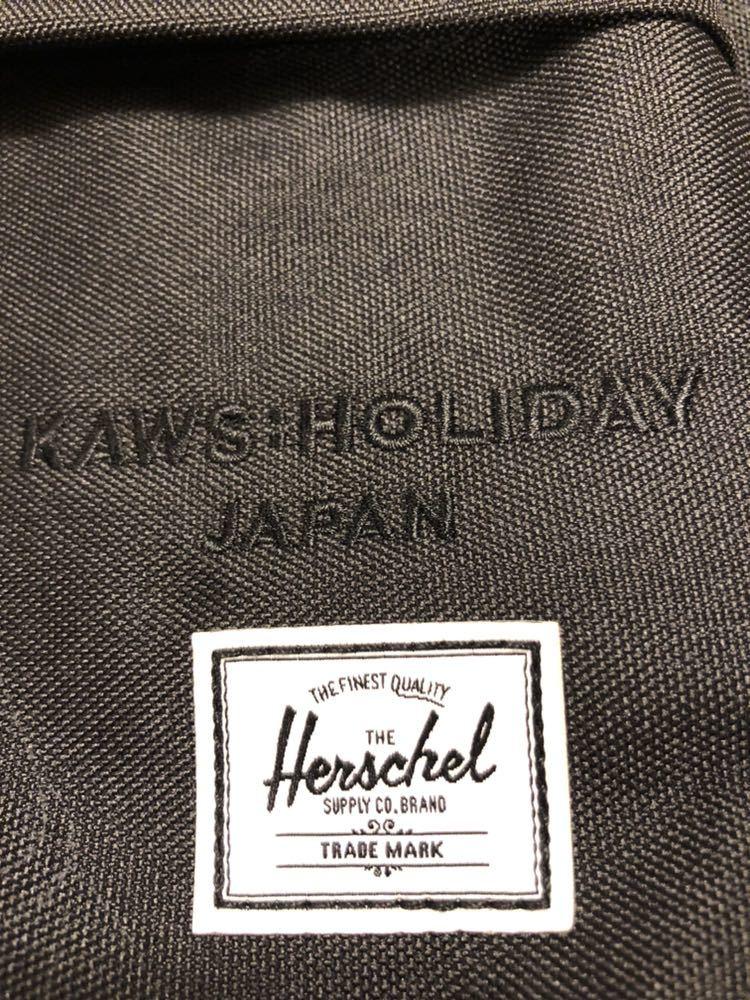 【激レア】会場限定 非売品 KAWS holiday japan 限定 非売品 バックパック リュック バッグHerschel supply Herschelsupply カウズ_画像3
