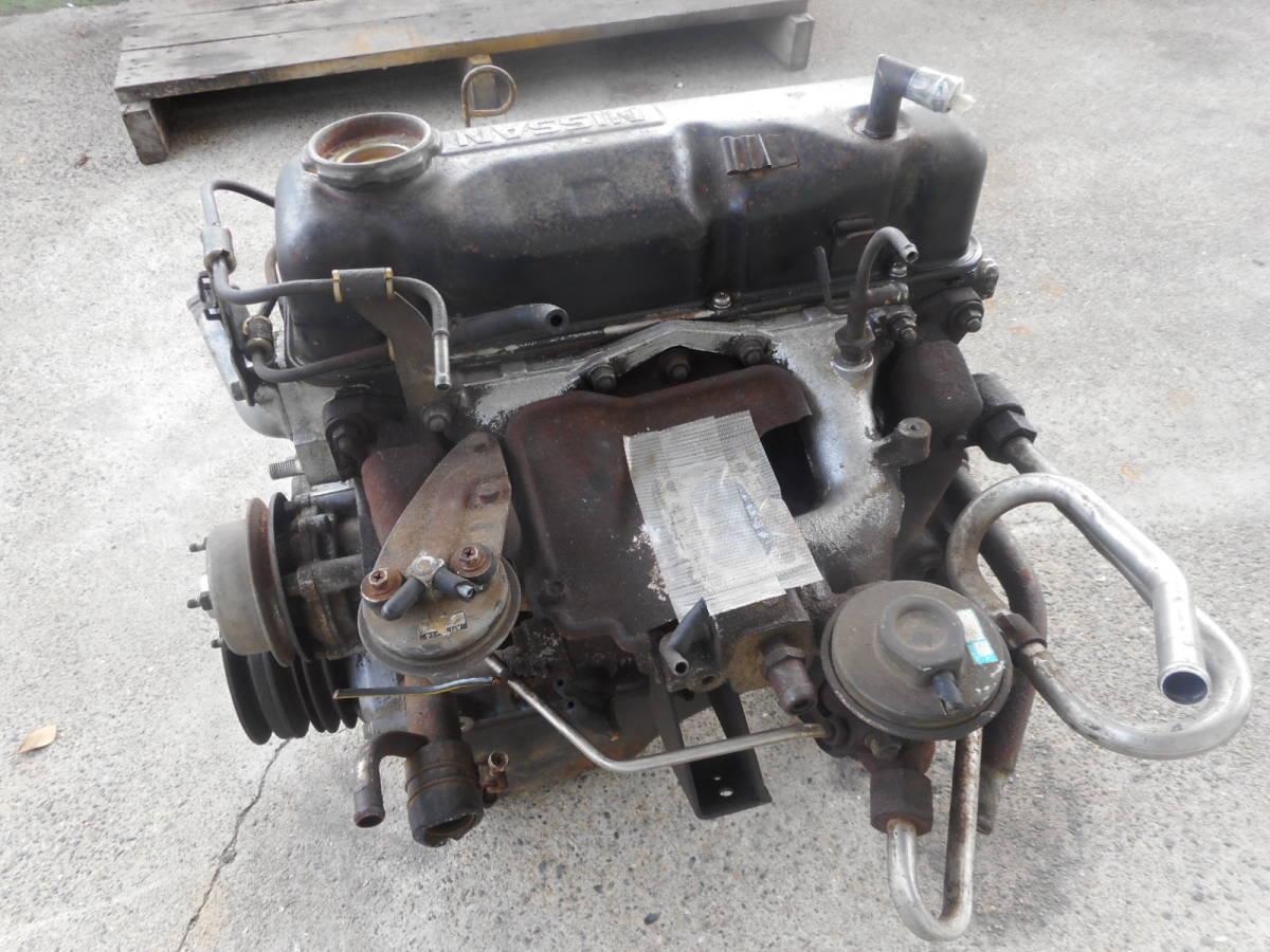 日産 純正 A15 エンジン本体 サニー サニトラ B310 B110 B122  中古品_画像6