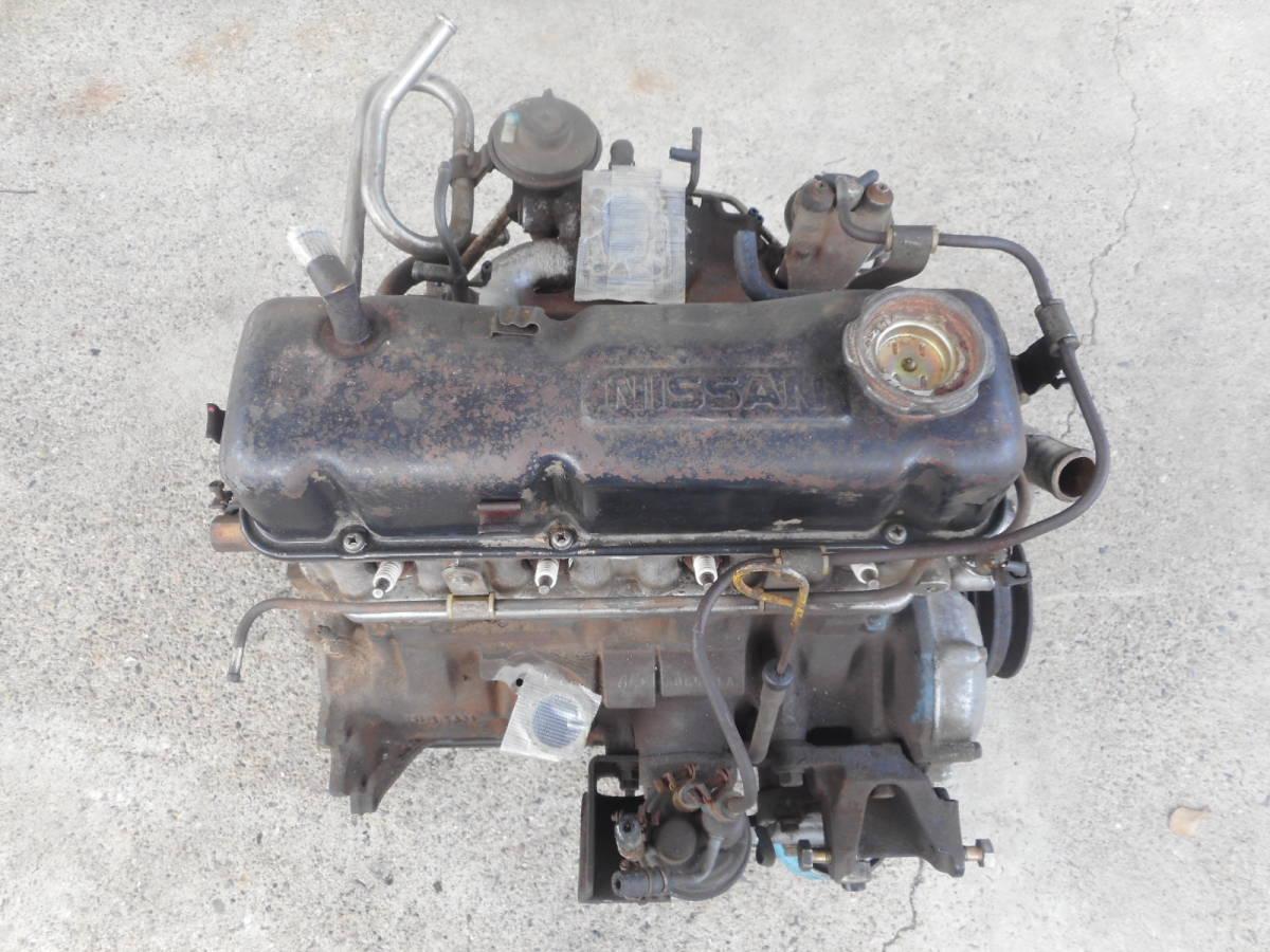 日産 純正 A15 エンジン本体 サニー サニトラ B310 B110 B122  中古品