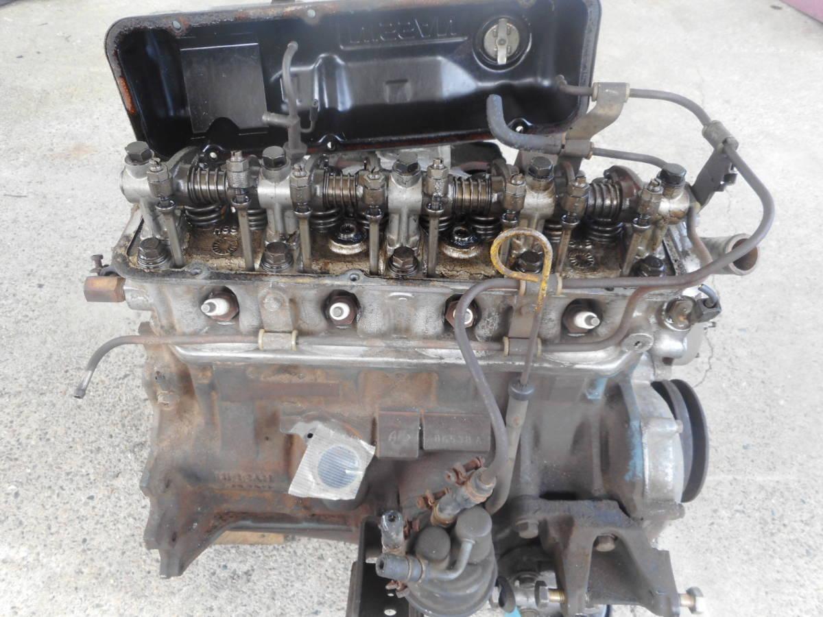 日産 純正 A15 エンジン本体 サニー サニトラ B310 B110 B122  中古品_画像4