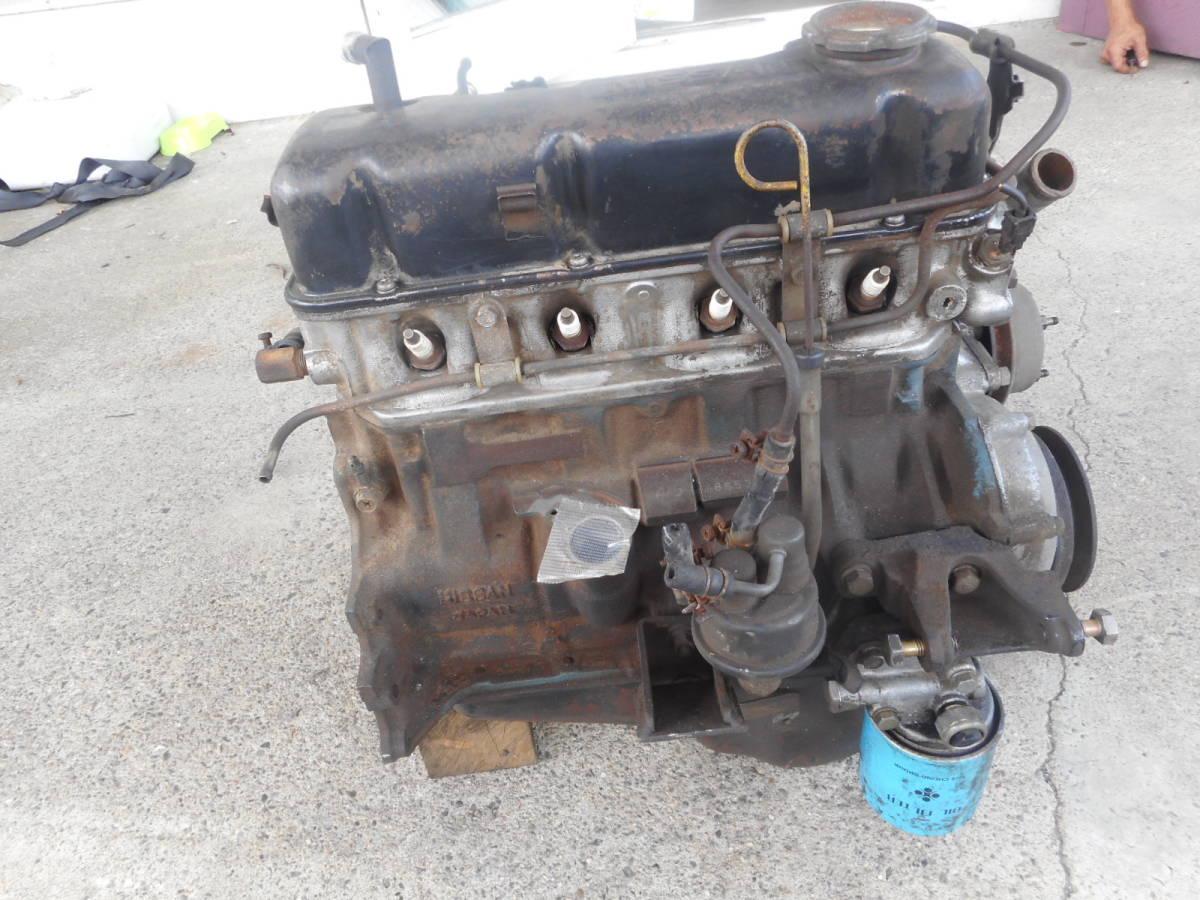 日産 純正 A15 エンジン本体 サニー サニトラ B310 B110 B122  中古品_画像2