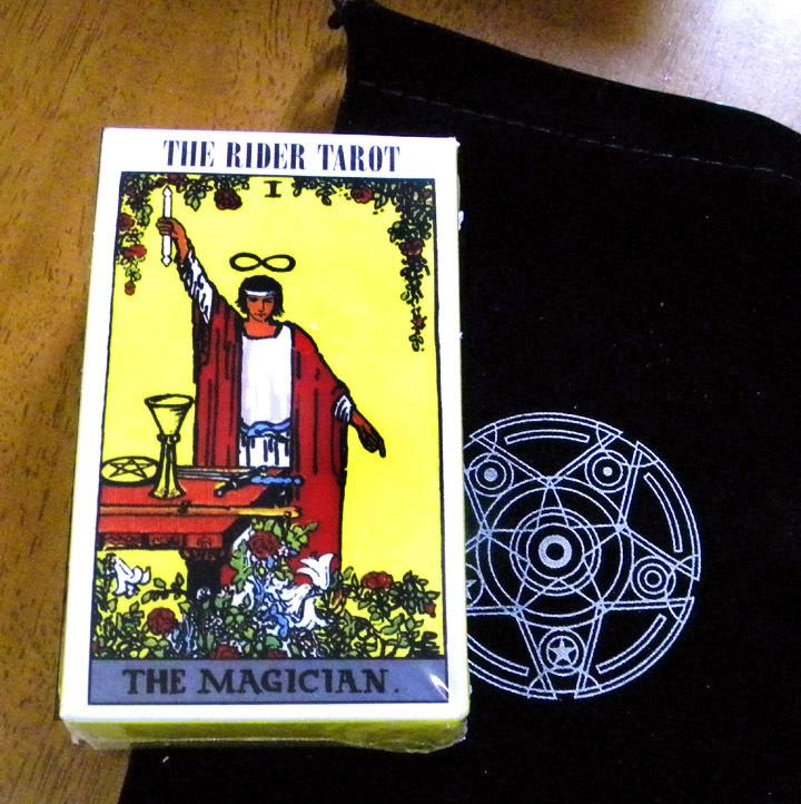 ★ タロットカード (ポーチ付き) ★ 「 ライダー タロットカード] The Rider Tarot Deck