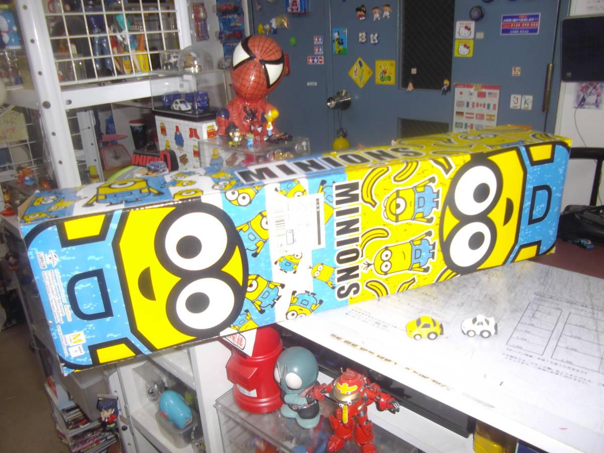 ◆激渋!◆超可愛いスケートボード『ミニオン』未使用◆箱悪【boxman_77】_可愛い箱裏画像です。