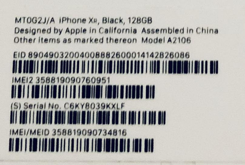 【保証有】iPhone XR 128GB ブラック(BLACK)黒本体 SIMロック解除済 おまけ付 1円~売切 新品未使用 判定○_画像4