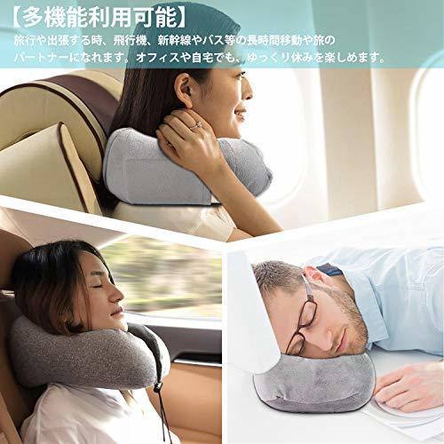 ●激安大売り● 限定1人1点! LOVEUR ネックピロー 低反発 U型まくら『3Dアイマスク付き』飛行機 トラベルピロー 携帯枕 首枕 旅行ピロー_画像5