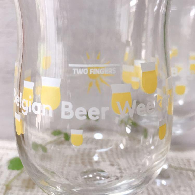 即決です*ベルギービールウィークエンド2018*昨年のもの*オリジナルグラス2個セット*BBW2018_画像2