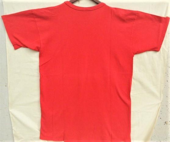 ビンテージ 70s80s champion チャンピオン Tシャツ 初期1st 旧タグ旧ロゴ OLDプリント 目玉 トリコタグ バータグ ランタグ 後付け 単色_画像2