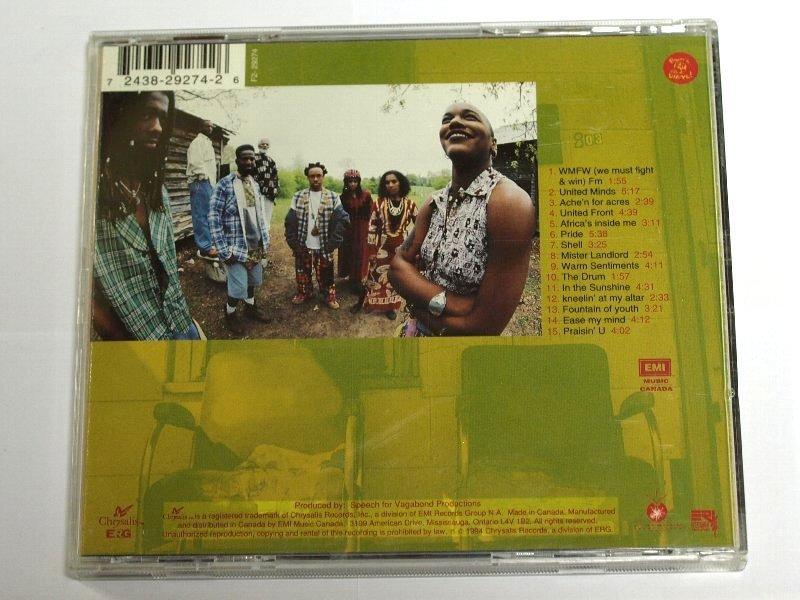 ARRESTED DEVELOPMENT / ZINGALAMADUNI アレステッド・ディベロップメント CD ズィンガラマドゥーニ アルバム_画像3