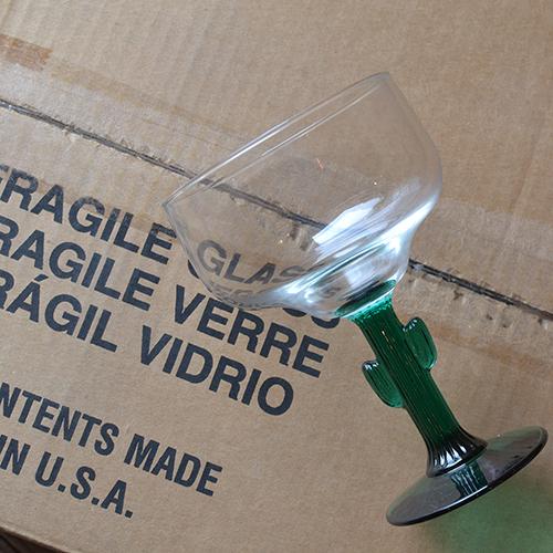 Libbey マルガリータ サボテングラス 12個バリューボックスセット CACTUS メキシコ USA製_画像5