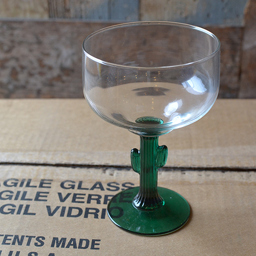 Libbey マルガリータ サボテングラス 12個バリューボックスセット CACTUS メキシコ USA製_画像7