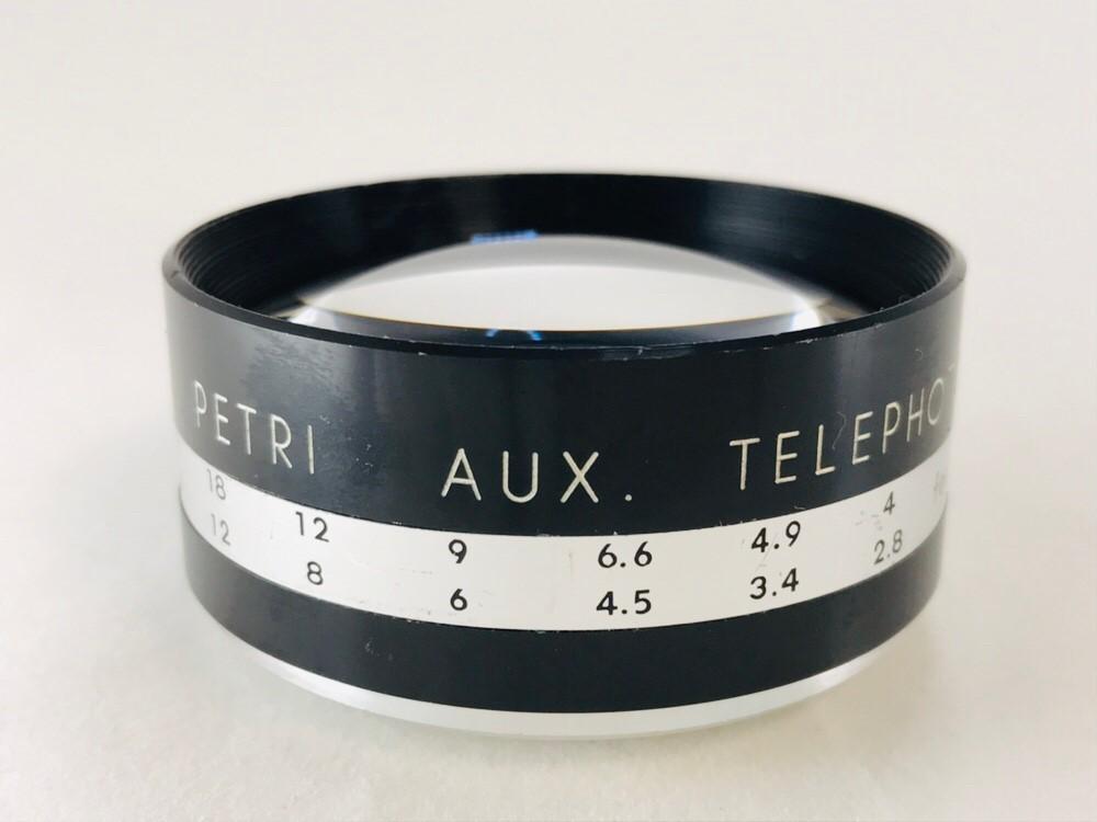 ★特上美品★ PETRI ペトリ AUX TELEPHOTO LENS FOR 45mm F1.9 #1995_画像2