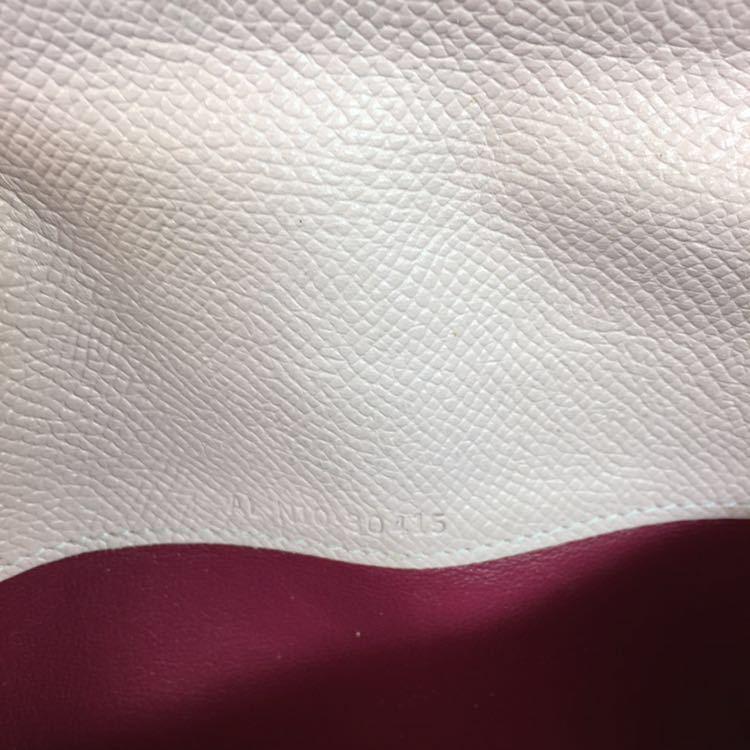 【ブルガリ】本物 BVLGARI 長財布 小銭入れ有り ブルガリブルガリ ピンク色系 本革 レザー メンズ レディース イタリア製 送料510円_画像7