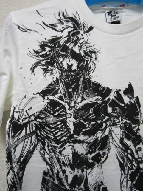 新品!UTxメタルギア Tシャツ【M】(ユニクロMETAL GEAR 25TH ANNIVERSARY)_画像3