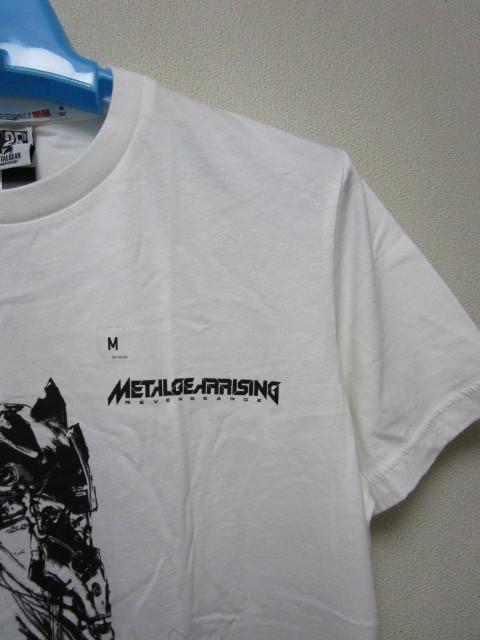 新品!UTxメタルギア Tシャツ【M】(ユニクロMETAL GEAR 25TH ANNIVERSARY)_画像4