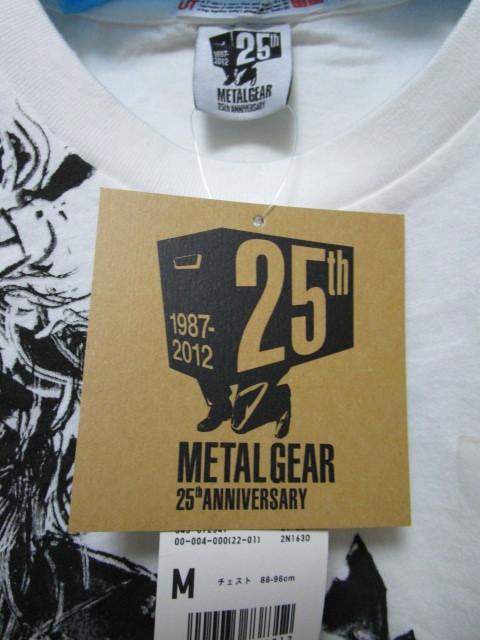 新品!UTxメタルギア Tシャツ【M】(ユニクロMETAL GEAR 25TH ANNIVERSARY)_画像6