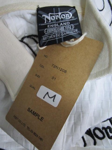新品!(P01)Norton 半袖ポロシャツ(ノートンモーターサイクルUK英国旧車バイクオートバイ)_画像7