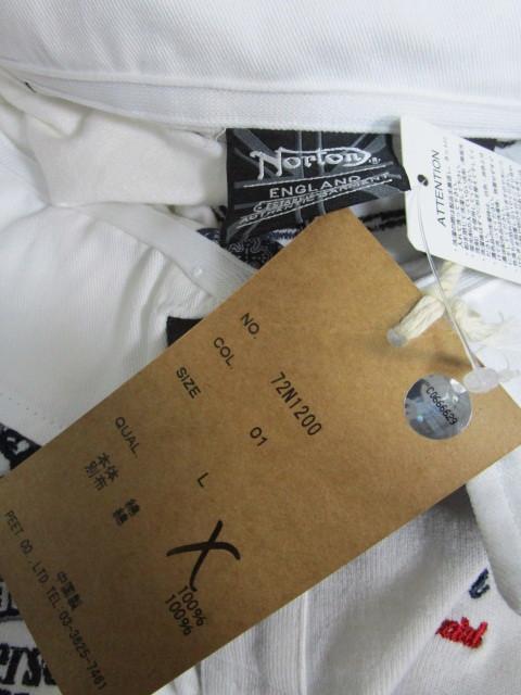 新品!(P04)Norton 半袖ポロシャツ(ノートンモーターサイクルUK英国旧車バイクオートバイ)_画像7
