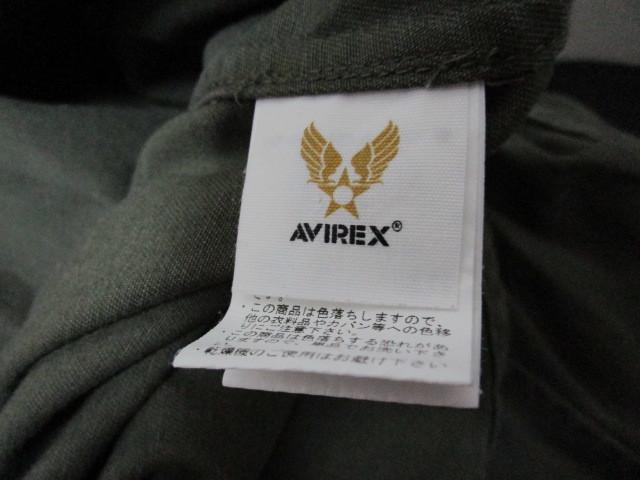 AVIREX フルデコ・ミリタリー長袖シャツ・L(アヴィレックスパッチドカスタム長袖シャツUSNツアージャケット)_画像8