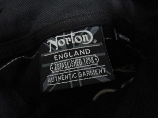 新品!(P05)Norton 半袖ポロシャツ(ノートンモーターサイクルUK英国旧車バイクオートバイ)_画像7