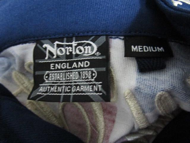 新品!(P09)Norton 半袖ポロシャツ(ノートンモーターサイクルUK英国旧車バイクオートバイ)_画像8