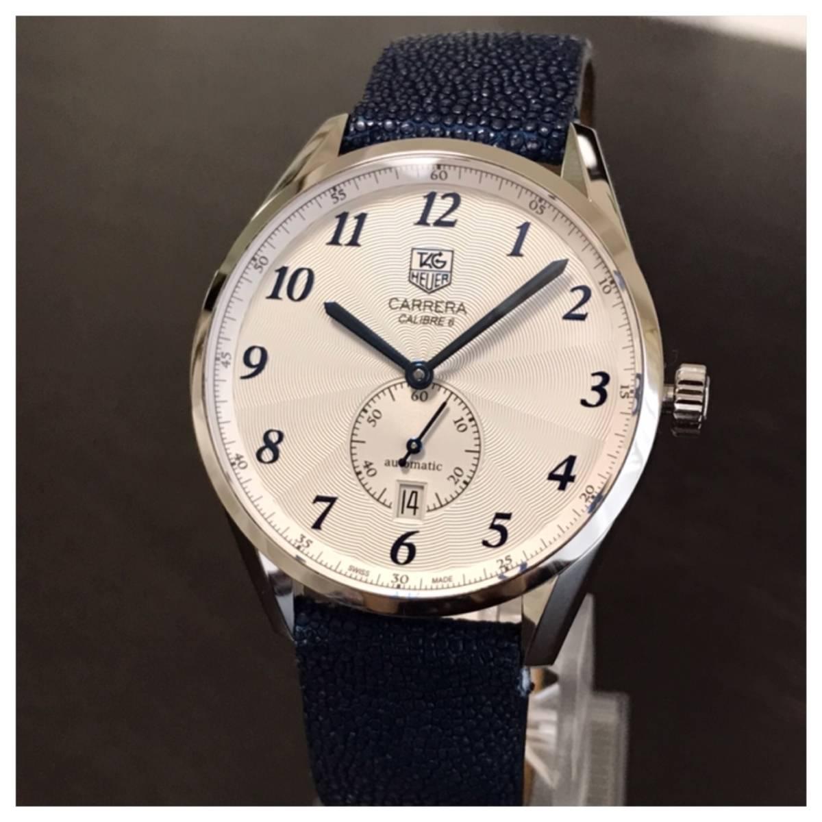 付属品全部付き☆新品同様美品のタグホイヤー時計カレラ・キャリバー6☆WAS2112☆_画像3