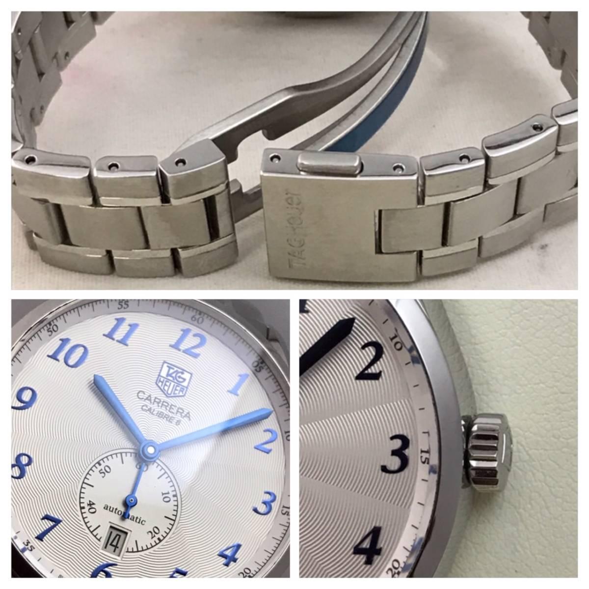 付属品全部付き☆新品同様美品のタグホイヤー時計カレラ・キャリバー6☆WAS2112☆_画像7