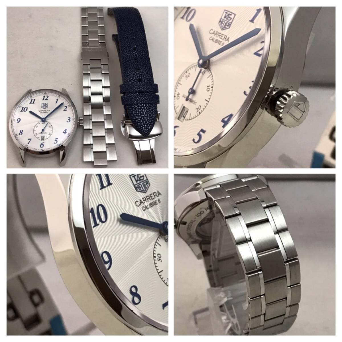 付属品全部付き☆新品同様美品のタグホイヤー時計カレラ・キャリバー6☆WAS2112☆_画像9