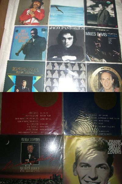 レコード まとめて 49枚 マイルス・デイヴィス、ジョン・コルトレーン、ビートルズ、フランク・シナトラ、サンタナ、ジョン・レノン_画像2