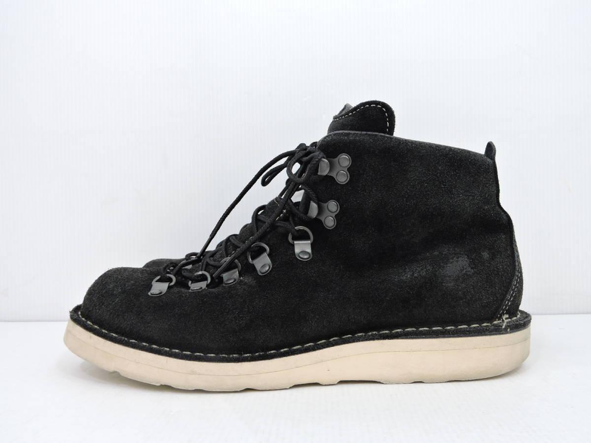 [153S045] Danner MOUNTAIN LIGHT BLACK SUEDE 30910X サイズ 26.5 / ダナー マウンテンライト ブーツ ブラック スエード メンズ 中古品_画像2