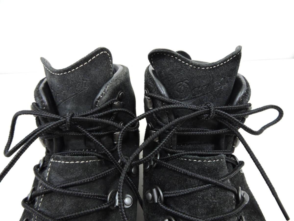 [153S045] Danner MOUNTAIN LIGHT BLACK SUEDE 30910X サイズ 26.5 / ダナー マウンテンライト ブーツ ブラック スエード メンズ 中古品_画像5