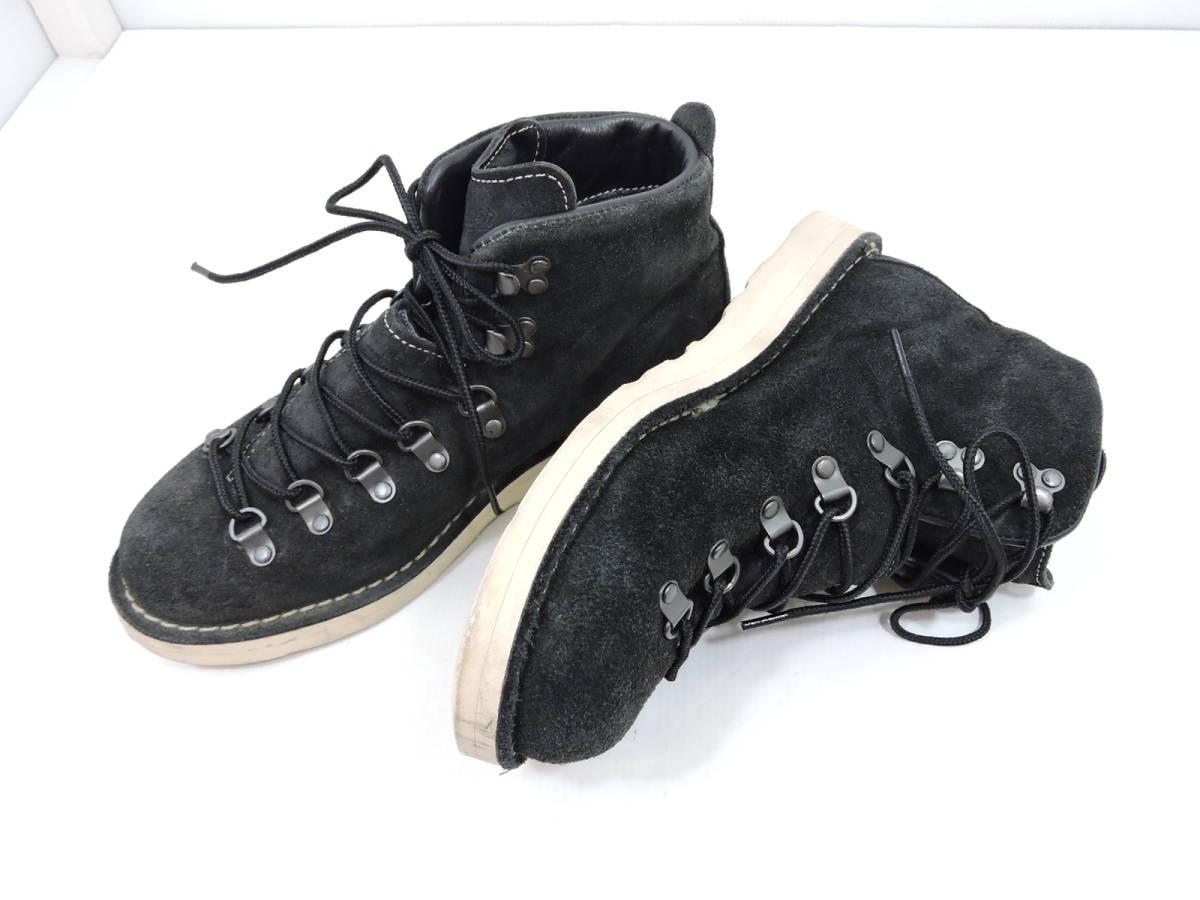 [153S045] Danner MOUNTAIN LIGHT BLACK SUEDE 30910X サイズ 26.5 / ダナー マウンテンライト ブーツ ブラック スエード メンズ 中古品_画像10