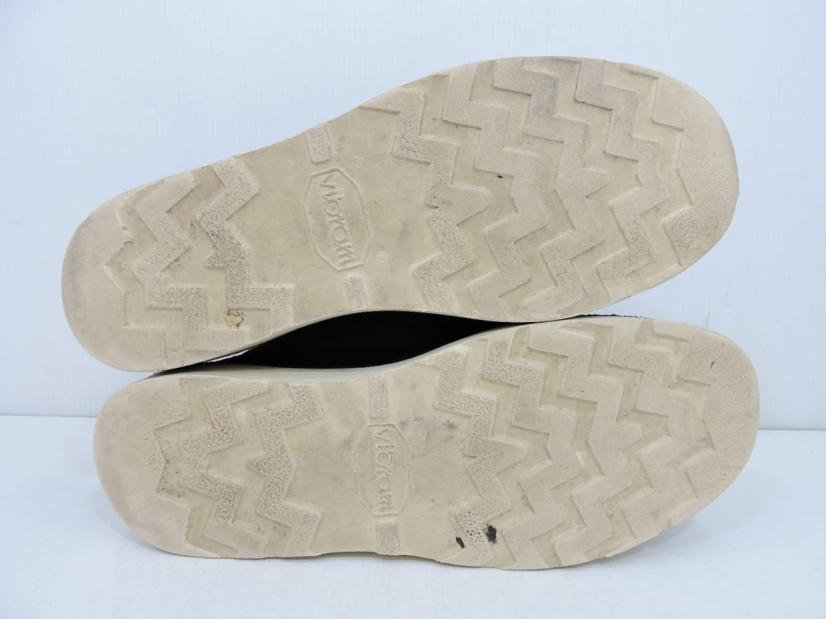 [153S045] Danner MOUNTAIN LIGHT BLACK SUEDE 30910X サイズ 26.5 / ダナー マウンテンライト ブーツ ブラック スエード メンズ 中古品_画像8