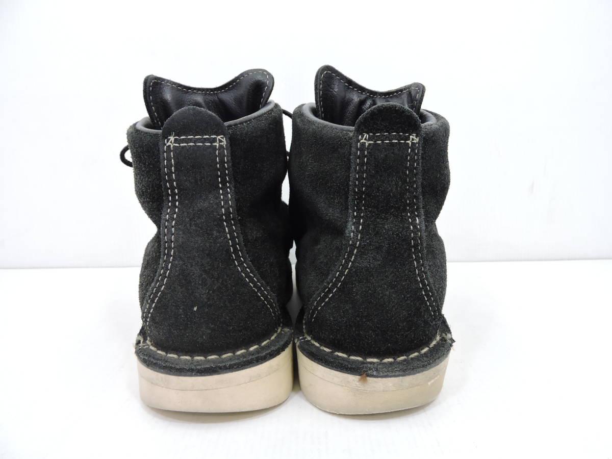 [153S045] Danner MOUNTAIN LIGHT BLACK SUEDE 30910X サイズ 26.5 / ダナー マウンテンライト ブーツ ブラック スエード メンズ 中古品_画像7