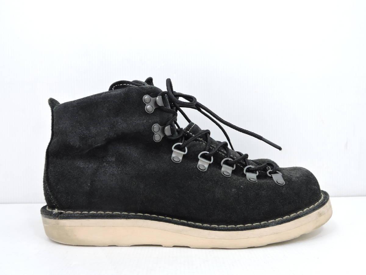 [153S045] Danner MOUNTAIN LIGHT BLACK SUEDE 30910X サイズ 26.5 / ダナー マウンテンライト ブーツ ブラック スエード メンズ 中古品_画像3