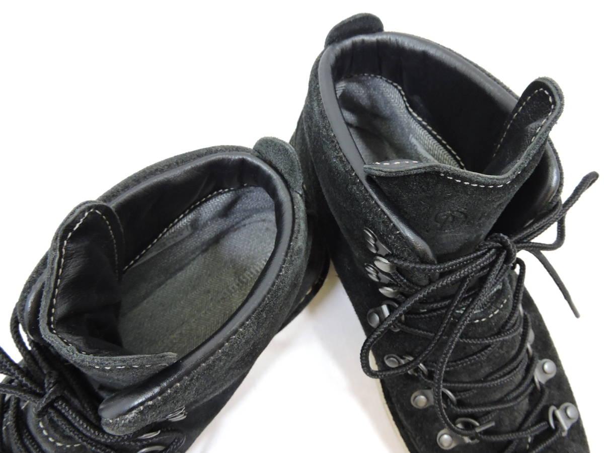 [153S045] Danner MOUNTAIN LIGHT BLACK SUEDE 30910X サイズ 26.5 / ダナー マウンテンライト ブーツ ブラック スエード メンズ 中古品_画像6