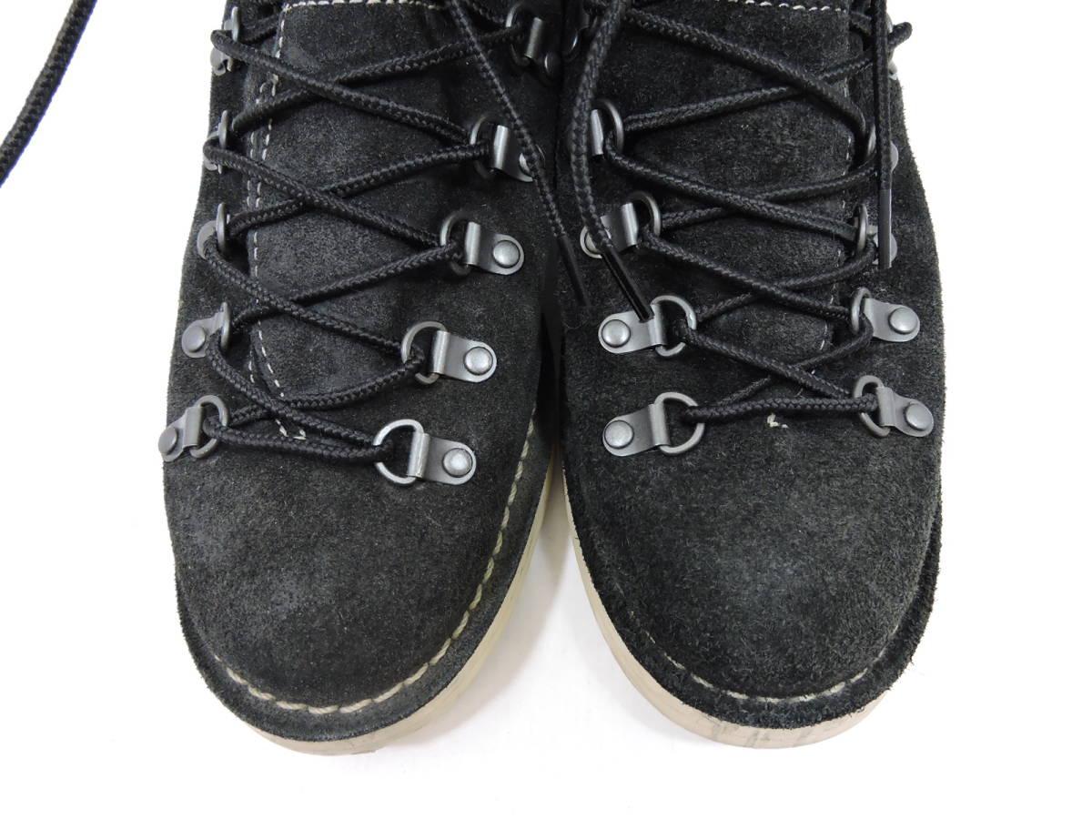[153S045] Danner MOUNTAIN LIGHT BLACK SUEDE 30910X サイズ 26.5 / ダナー マウンテンライト ブーツ ブラック スエード メンズ 中古品_画像4
