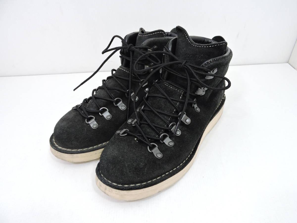 [153S045] Danner MOUNTAIN LIGHT BLACK SUEDE 30910X サイズ 26.5 / ダナー マウンテンライト ブーツ ブラック スエード メンズ 中古品