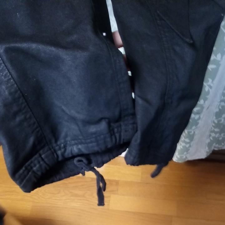 FUGA コーティングサルエルカーゴパンツ 黒 サイズ44 美品 CIVARIZE vanquish Buffalo bobs_画像4