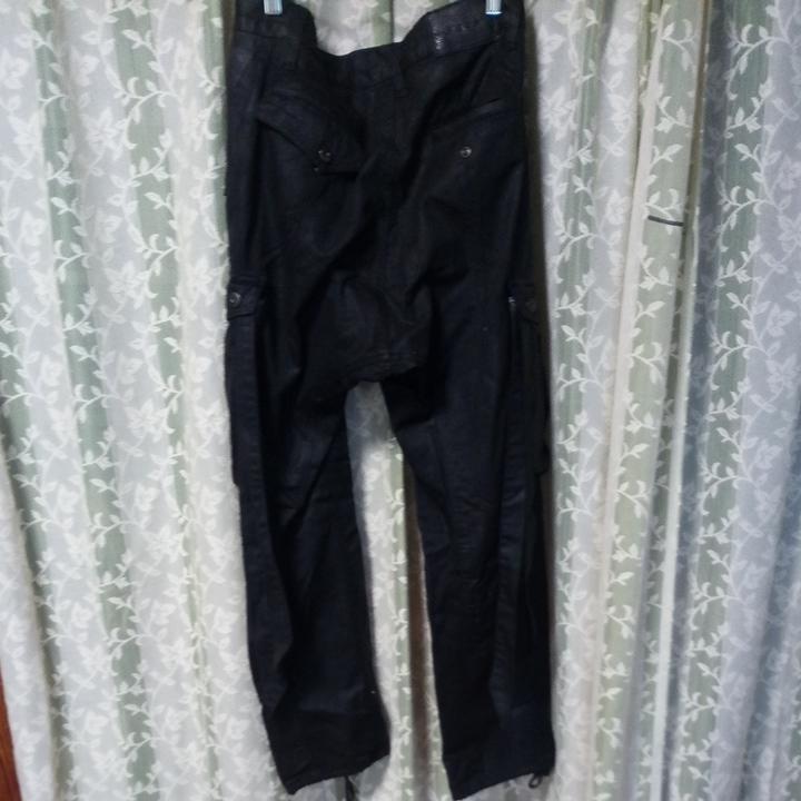 FUGA コーティングサルエルカーゴパンツ 黒 サイズ44 美品 CIVARIZE vanquish Buffalo bobs_画像3