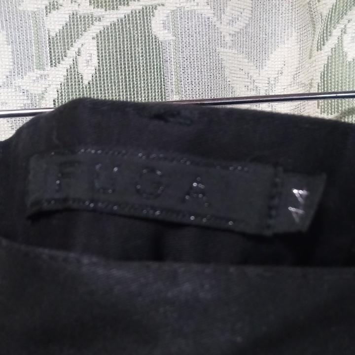FUGA コーティングサルエルカーゴパンツ 黒 サイズ44 美品 CIVARIZE vanquish Buffalo bobs_画像2