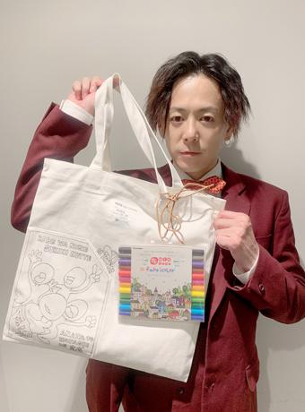 【ROOTOTE】OH-SE(電撃チョモランマ隊)さんトートバッグ作品