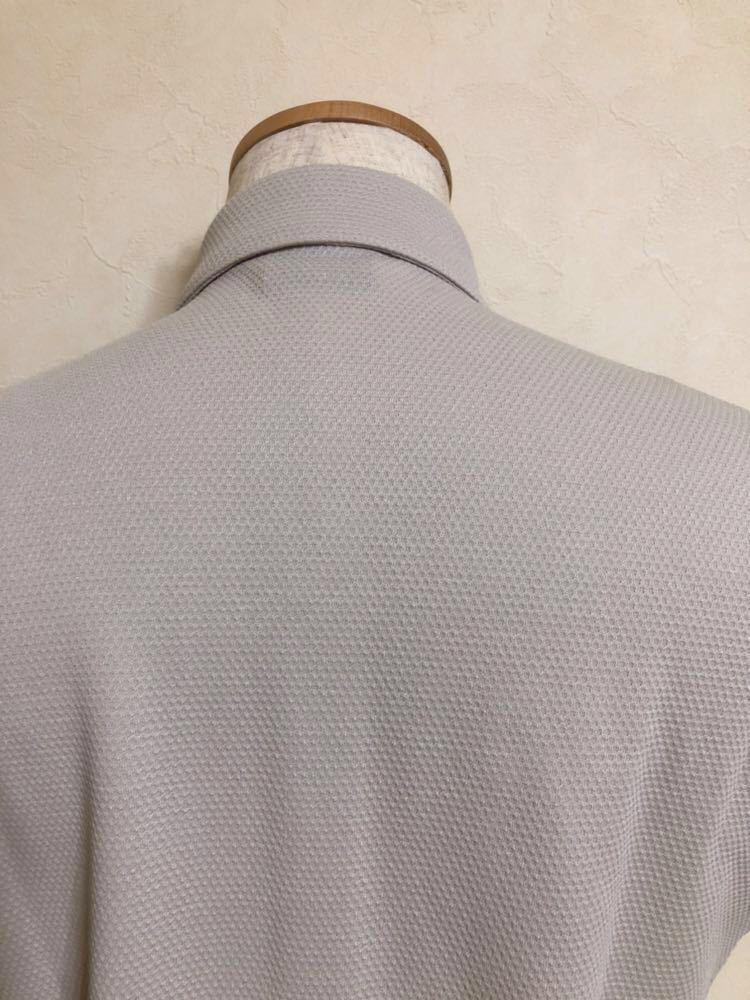 【新品】 le coq sportif GOLF COLLECTION ルコック ゴルフ コレクション ドライポロシャツ トップス サイズS 半袖 QG2973 吸汗速乾 UVケア_画像4