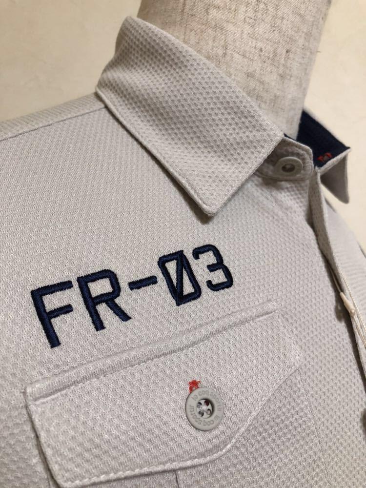 【新品】 le coq sportif GOLF COLLECTION ルコック ゴルフ コレクション ドライポロシャツ トップス サイズS 半袖 QG2973 吸汗速乾 UVケア_画像9