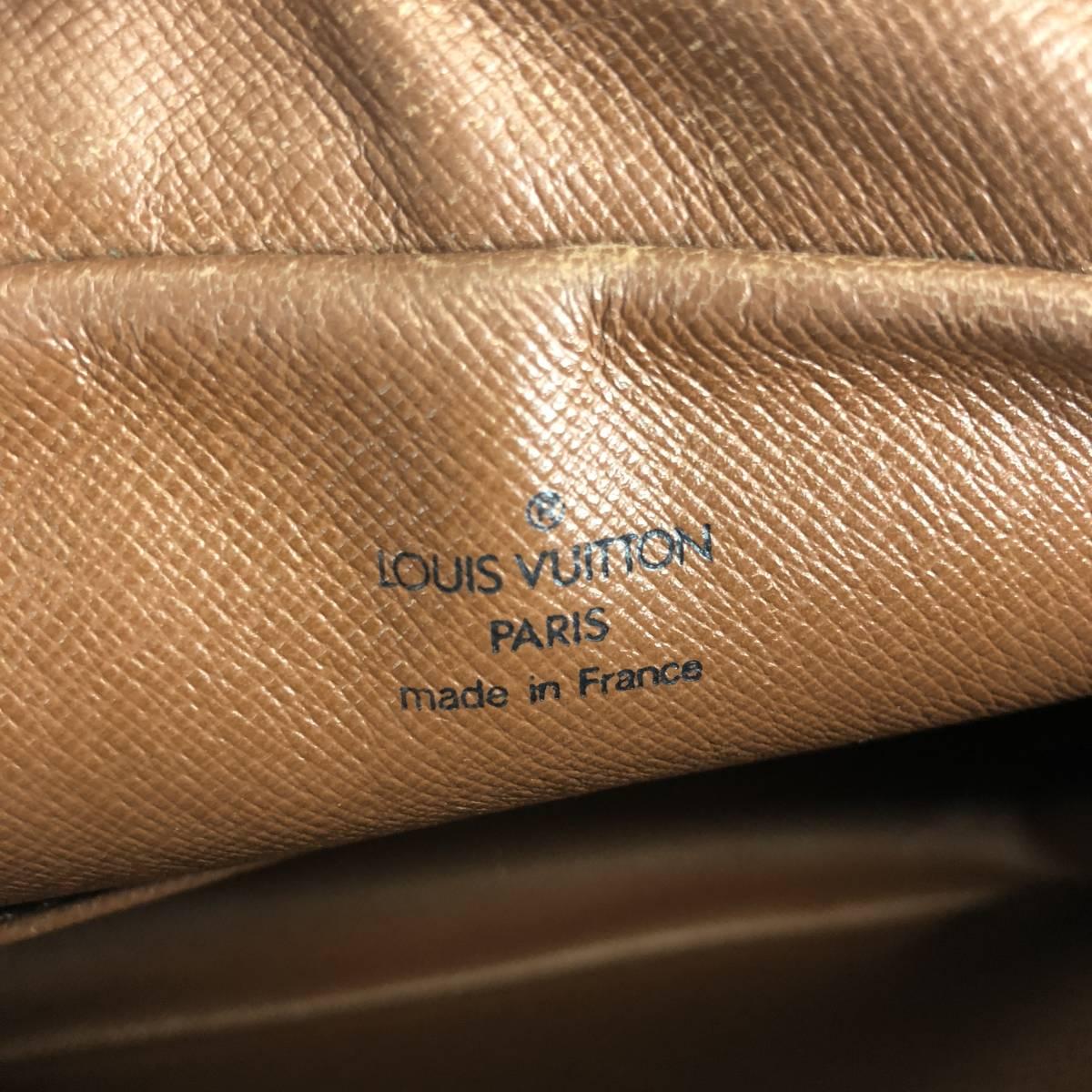 ジャンク品【3点セット】LOUIS VUITTON ルイヴィトン モノグラム スピーディ40 M41522 ボストンバッグ ハンドバッグ セカンドバッグ_画像10