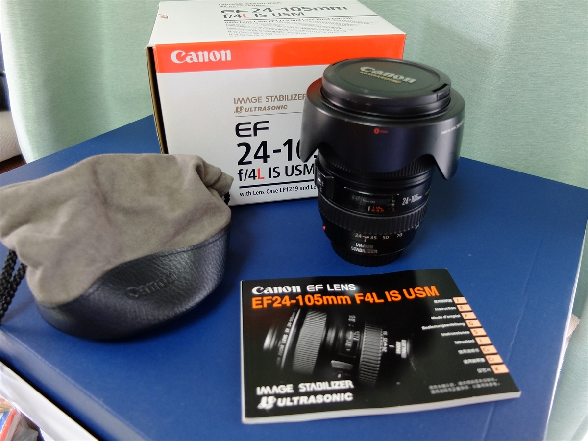 CANON EF24-105mm F4L IS USM メンテナンス済み