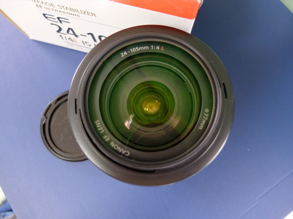 CANON EF24-105mm F4L IS USM メンテナンス済み_画像2