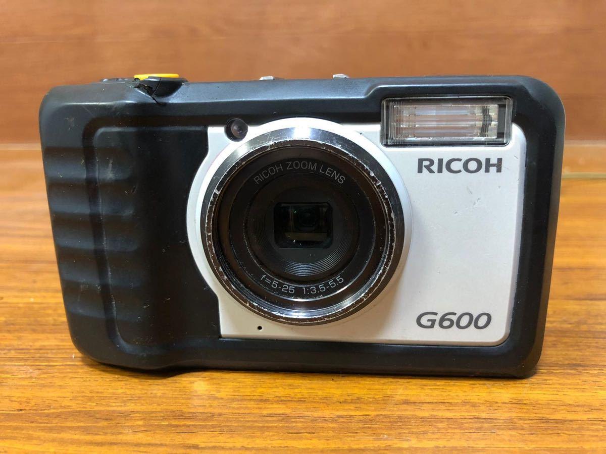 RICOH 、デジタルカメラ 、G600 、動作未確認!