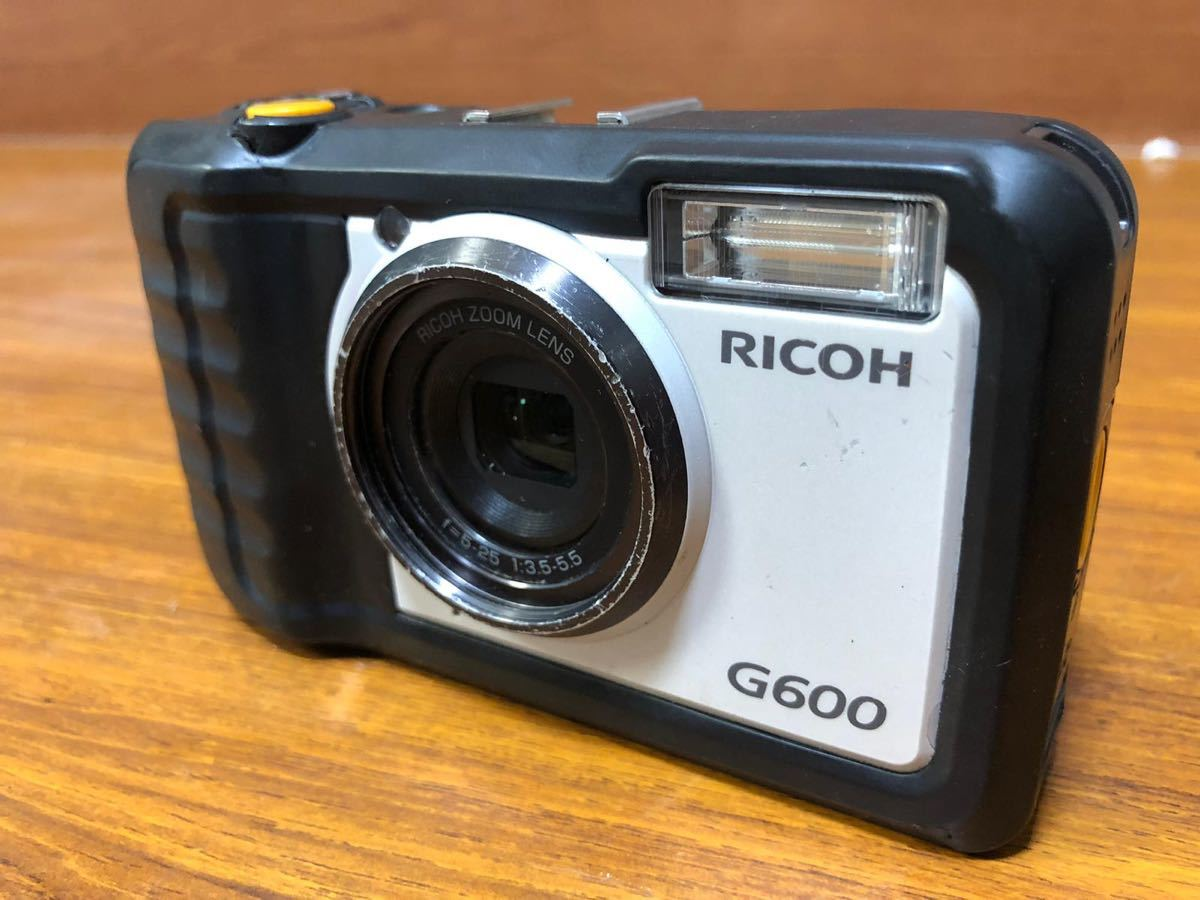 RICOH 、デジタルカメラ 、G600 、動作未確認!_画像6